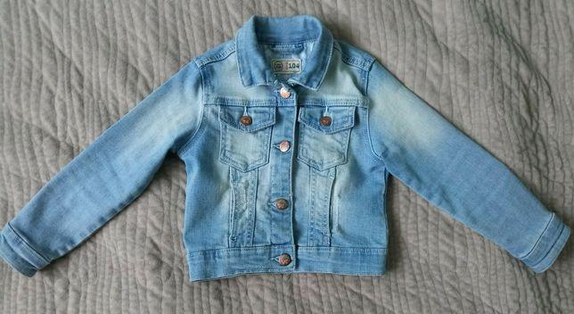 kurteczka jeansowa dziewczęca
