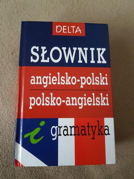 Słownik angielsko-polski i polsko-angielski i gramatyka