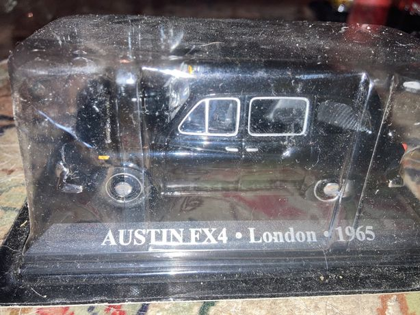 Austin FX4 taxi london 1:43