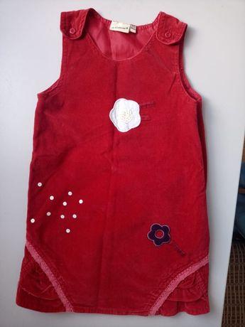 86-92 платье сарафан бархат 1-2 года H%M Zara Chicco Next