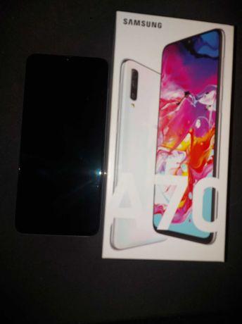 Telefon Samsung A70 Biały