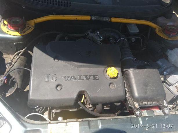 Двигатель ВАЗ 21124 (1,6 л) 16 клап. с турбиной Т-25 в сборе.