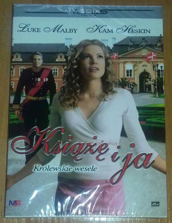 Film Książę i ja Królewskie wesele DVD NOWY FOLIA UNIKAT
