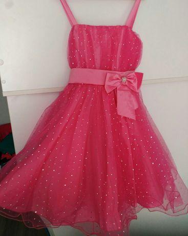 Продам блестящее платье на девочку
