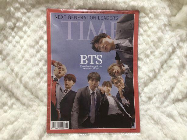 Специальный выпуск журнала TIME с BTS на обложке +постер