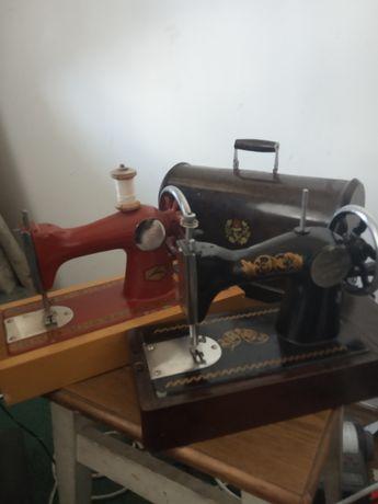 Детская швейная машинка.СССР.Шьет!