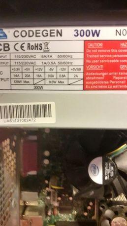 Продам INTEL DESKTOP BOARD D915GEV + Intel Pentium4 640 3.2GHz +2Gb