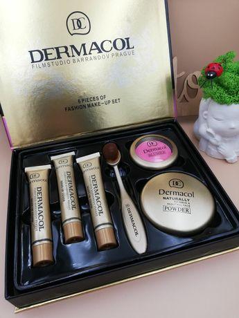 Набор Dermacol Дермакол 6 в 1. Тональный крем, румяна,пудра