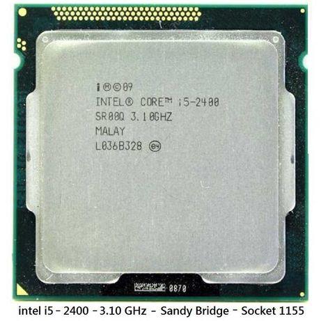 CPU intel i5-2400 Quad Core