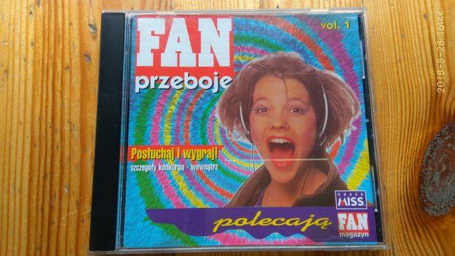 CD - FAN PRZEBOJE - składanka polskich przebojów vol 1