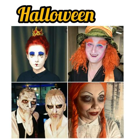 Грим, макияж на Хеллоуин Halloween