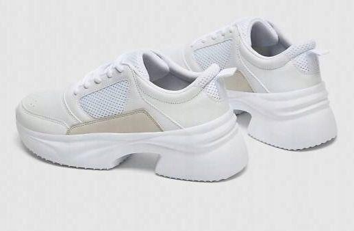 Buty Zara! Białe! Modne!