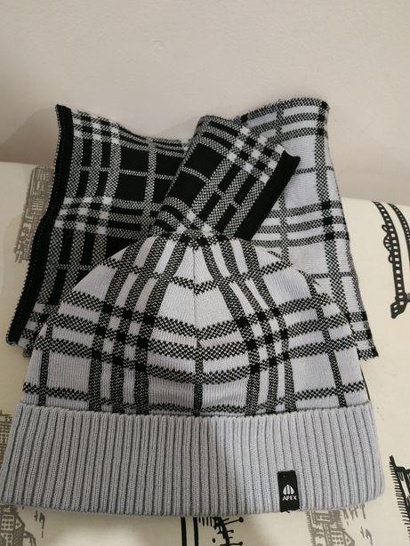 Шапка шапка с шарфом