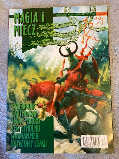 Magia i miecz numer 12 rok 1998