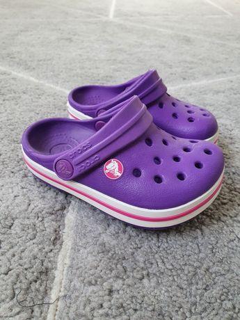 Crocsy crocs dla dziewczynki 4c5