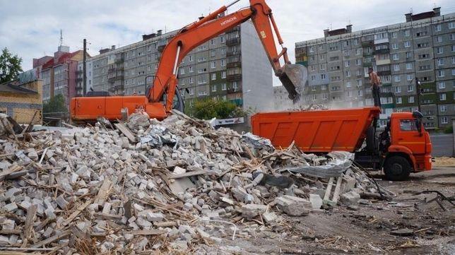 Демонтаж завода дома дачи,демонтажные работы Уборка Участка