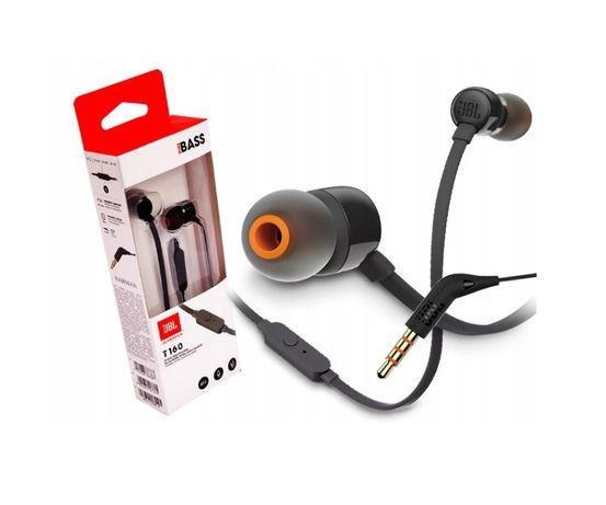 Słuchawki dokanałowe JBL T160 czarne nowy komplet gwarancja