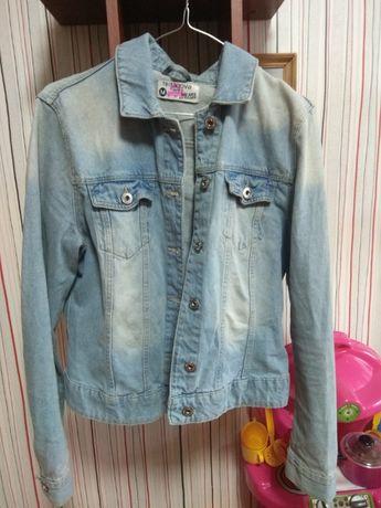 Джинсовый пиджак TERRANOVA,куртка джинс M р,курточка 46-48 р