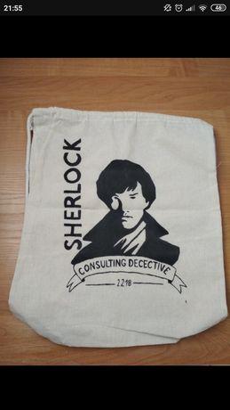 Plecak bawełniany Sherlock