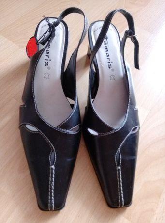 Nowe, skórzane buty w r. 39 marki Tamaris