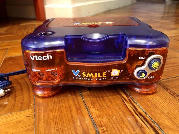 Consola V.Smile - VTECH + 2 jogos + Mochila