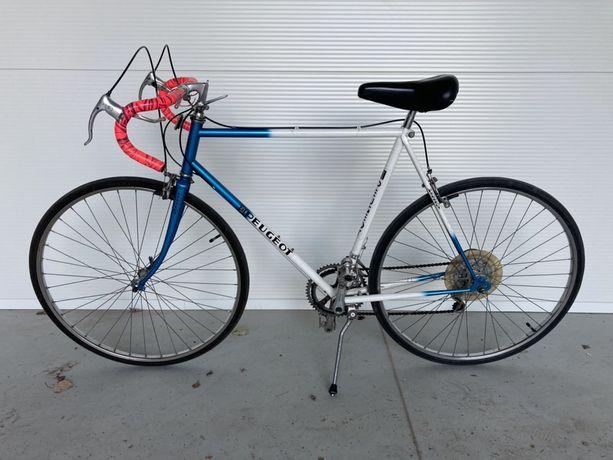 Kolarka rower szosowy z historią Peugeot stan IGŁ