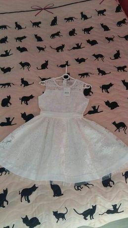 Nowa sukienka wizytowa,koktailowa roz 146 dziewczynka
