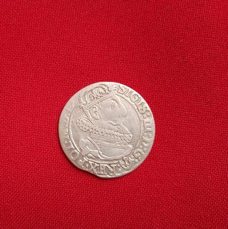 Шикарное состояние! Шестак 1623 г! Монета серебро! Речь Посполитая!