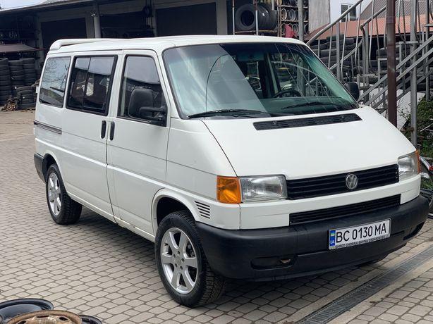 VW Transporter 2.5 tdi 65kW груз-пас 7місць течик бус Транспортер