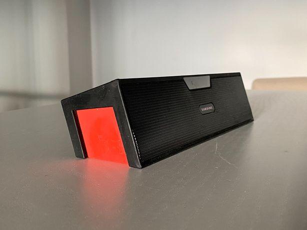 Coluna portátil Bluetooth com despertador + rádio FM / micro SD
