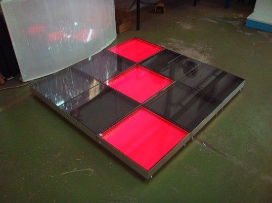 palco leds 10 modulos