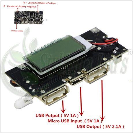Moduł ładowania baterii li-ion - DIY