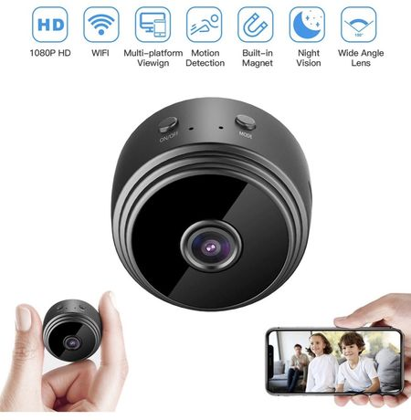 Spy camera Mini HD 1080P Wireless Hidden Camera