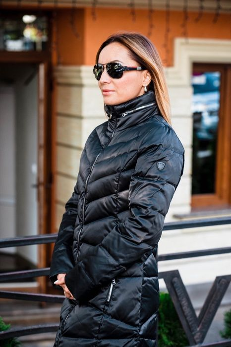 женское пальто пуховик Emporio Armani EA7 Новый Ужгород - изображение 1