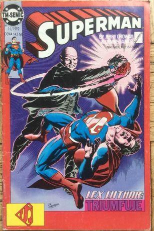 Komiks Superman 11/92 wyd. Tm-Semic