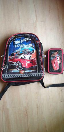 Plecak Hot Wheels + piórnik