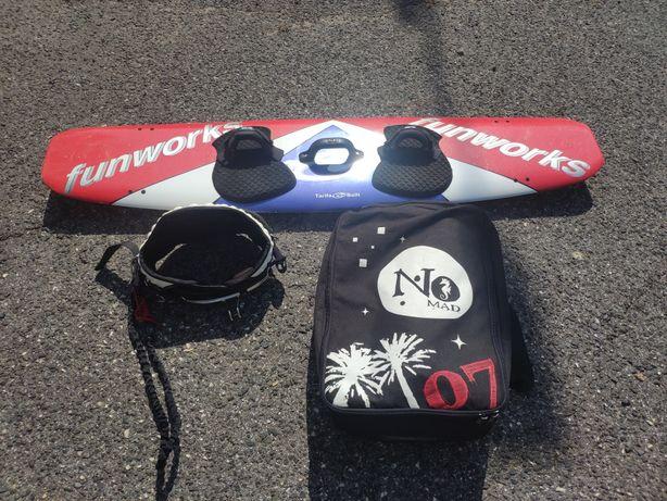 Conjunto completo de kitesurf