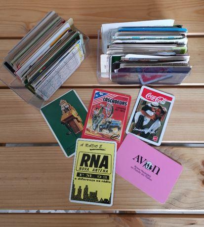 Coleção de calendários de bolso desde 1978