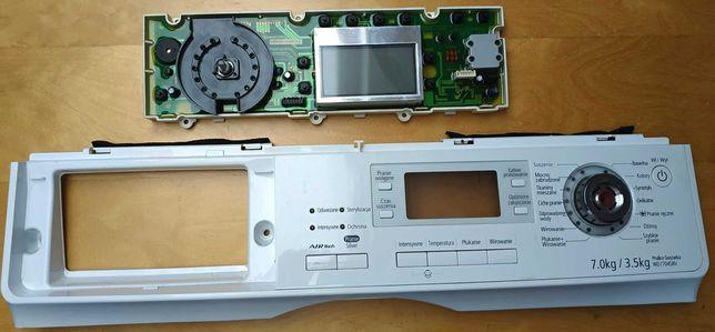 Pralko-Suszarka Samsung WD7704S8V panel z wyświetlaczem
