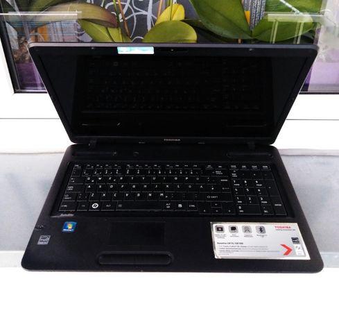 """WIELKI 17"""" laptop TOSHIBA /Intel® Core™ i3/ 8GB-Ram /Nowy szybki SSD/"""