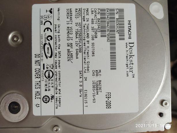 Жорсткий диск 250 gb