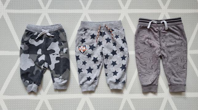 Zestaw spodni dresowych dla niemowlaka rozm. 56-68, Vrs, Tu