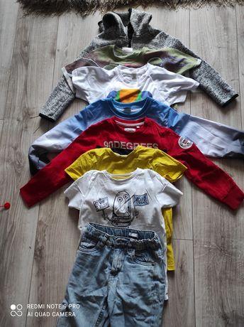 Paka ubrań dla chłopca 80 sztuk rozmiar 122-128