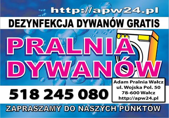 Pranie Dywanów - Dezynfekcja Gratis - Czarnków - ul. Rzemieślnicza 5,