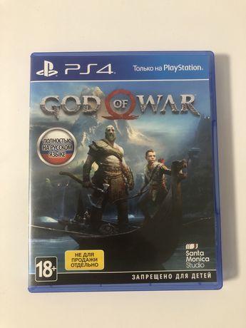 God of war PS4 диск