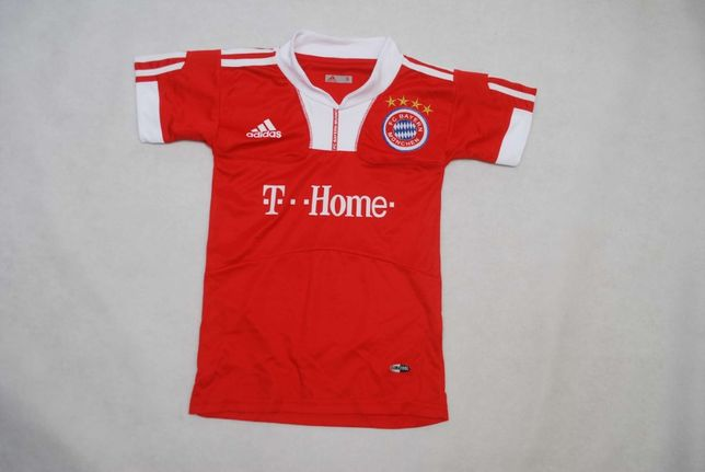 Modna Koszulka Adidas 6 lat Fc Bayern Gomez z USA!