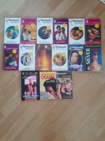 książki romanse Harlekin