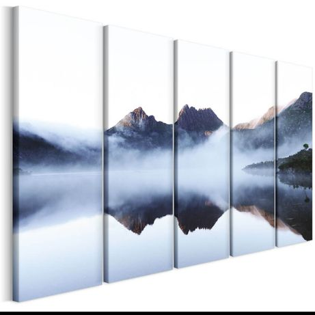 """Obraz """"Góry we mgle""""  Revolio"""