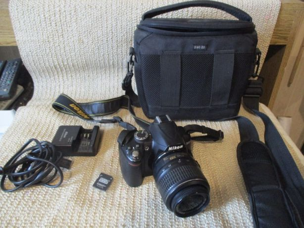 Aparat Nikon D3000 Sprawny