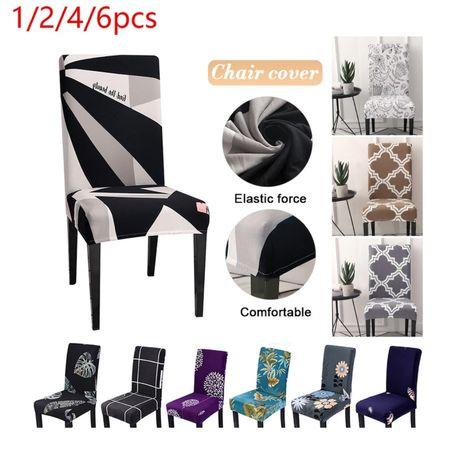 Nowe pokrowce na krzesła 13 wzorów do wyboru OKAZJA